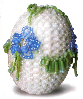 The spring. Beading eggs