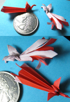 Beads and origami