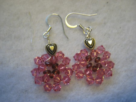Earrings Valentine's Day