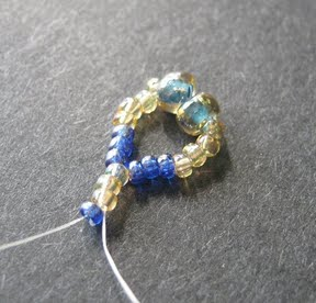 Another bracelet with tila beads