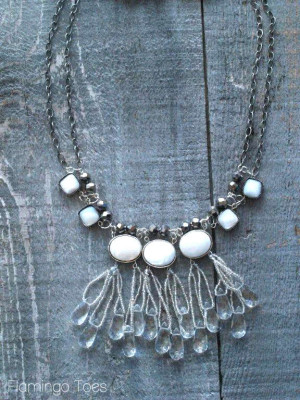 Necklace – ice drops
