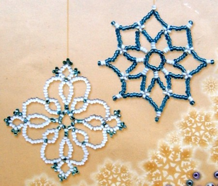 How to make adorable snowflake