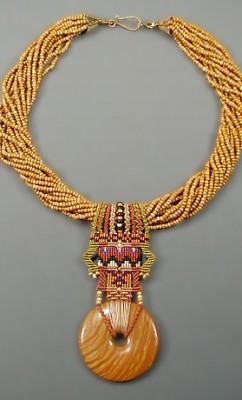 Macrame and beads