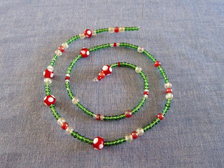 Christmas tree beaded