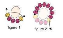 Плетем по схеме – круглые серьги