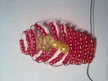 Fridge magnet butterfly