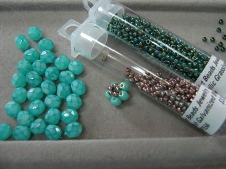 Цветочный элемент для браслета