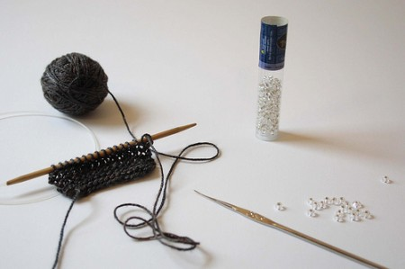Another option for knitting with beads