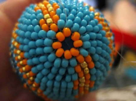 Odletem beaded egg