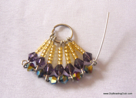 Funny earrings