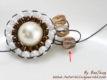 Bracelet with circular elements