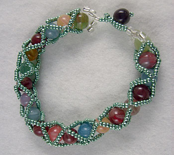 Odletem beads beaded bracelet