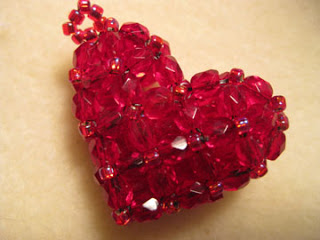 Volumetric heart bead