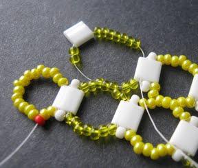 Japanese seed beads, tila