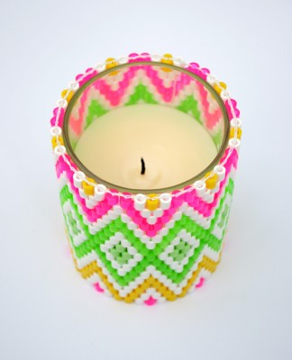 Bright candle holder