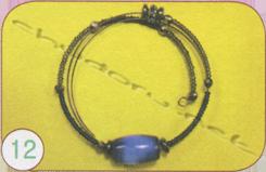 Сережки, кольє, браслет «Подих космосу» - Ручне диво