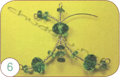 Earrings and pendant Jade Lotus