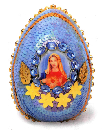 How unusual to decorate eggs for Easter?