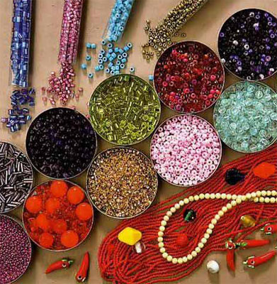 The history of the appearance and distribution of beads