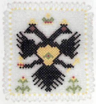 Серветка з орлом