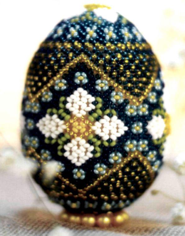 Gift egg Dance of flowers