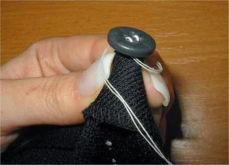 HANDMADE: Quilting for sewing accessories - flat buttons