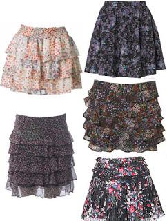 Processing skirts: model diversity