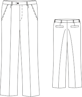 Processing pants: description of the appearance of