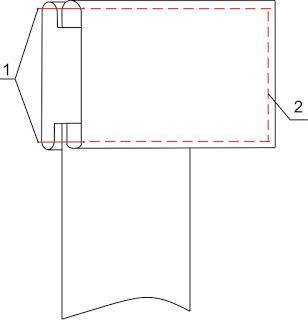 Treatment of the skirt: waist