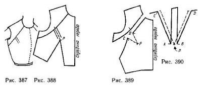 Bodice with double parallel Darts