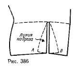 Strapless bodice with zigzag Darts