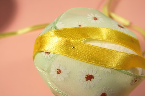 Easter egg satin ribbons