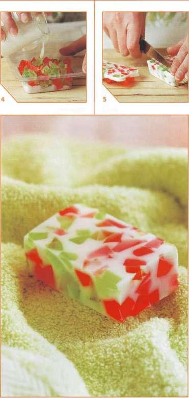 домашнее земляничное мыло