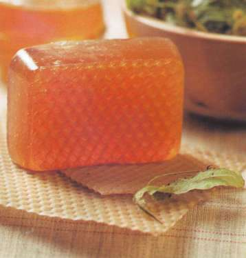 домашнее медовое мыло