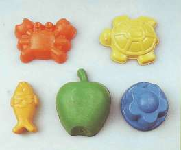 Baby molds for sand