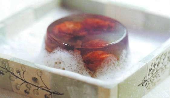 домашнее мыло с хмелем