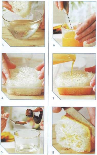 домашнее мыло люфа