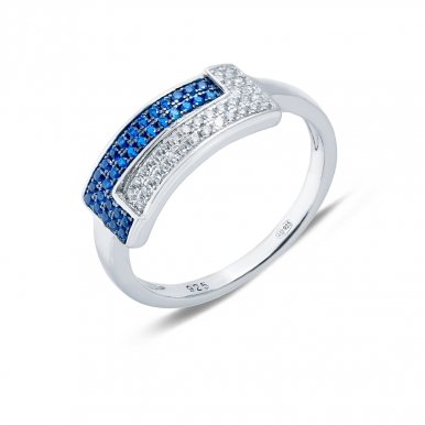 Cеребряные кольца: какие выбрать — с цирконием или с топазом?