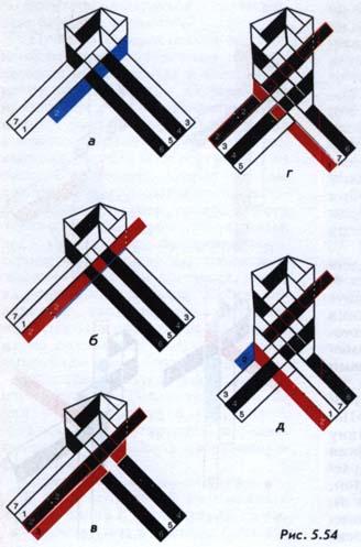 Продовження робочих саломин в плоских плетивах
