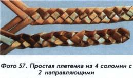 Плетінки з 4 соломін