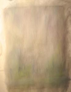 Wool painting, or watercolor wool
