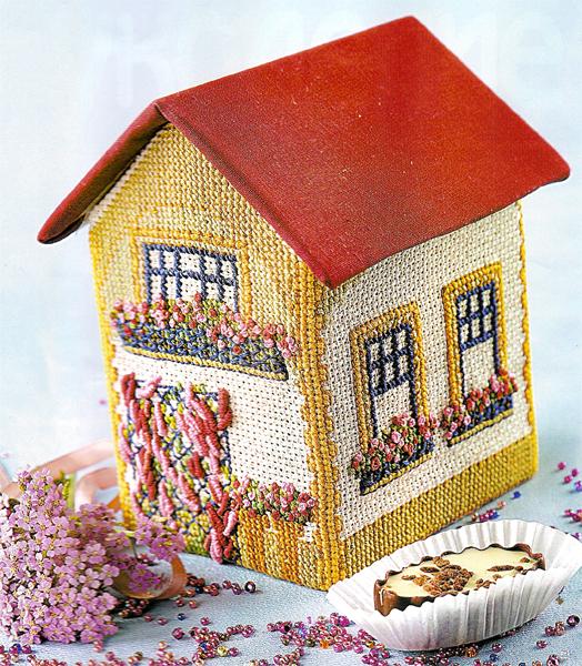 House-Sasha. Bulk cross stitch