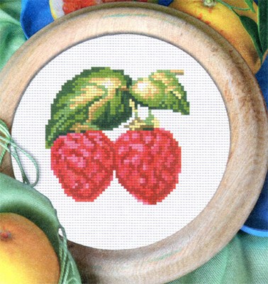 Malinka. Cross stitch for children