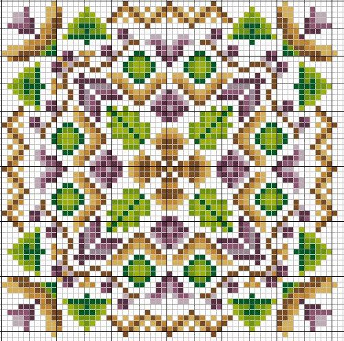 How to sew biscornu (+ schema)