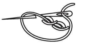 Швы «Витая цепочка», «Макраме» и «Колосок»