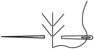 Шви «Кручений ланцюжок», «Макраме» та «Колосок»