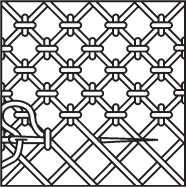 Декоративные сетки и шов «Набор»
