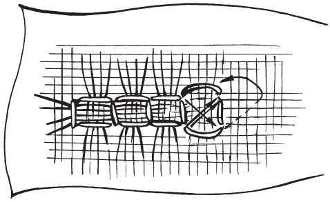 Мережка «панка» и «полотнянка»
