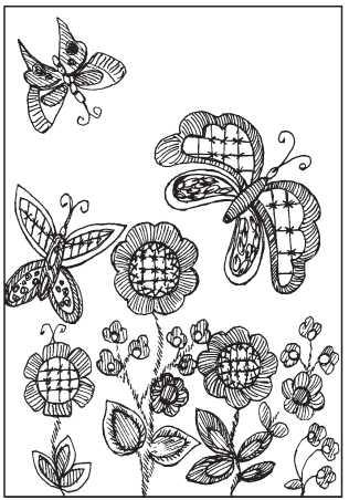 Panel Butterflies