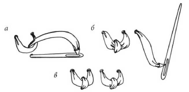 Стежки, применяемые при вышивке лентами